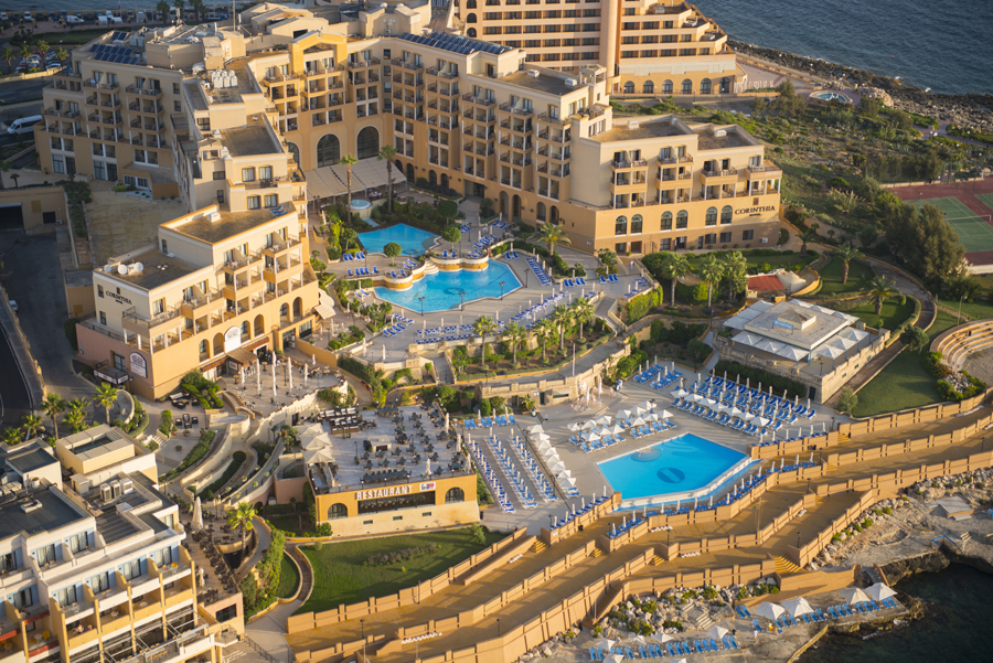 Photo courtesy of Corinthia Hotel St. George's Bay Malta