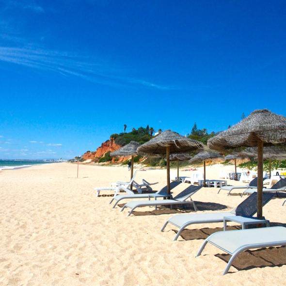 beach in Algarve Portugal, holiday in Portugal's Algarve