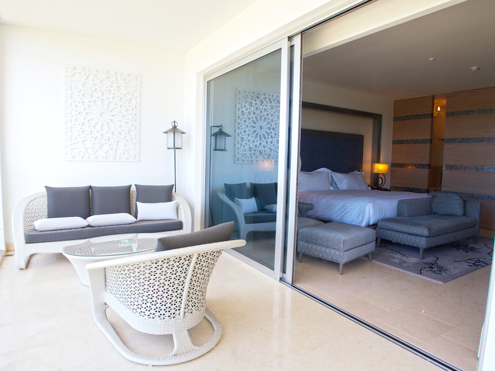luxury accommodation in Algarve, bedroom suite at Conrad Algarve