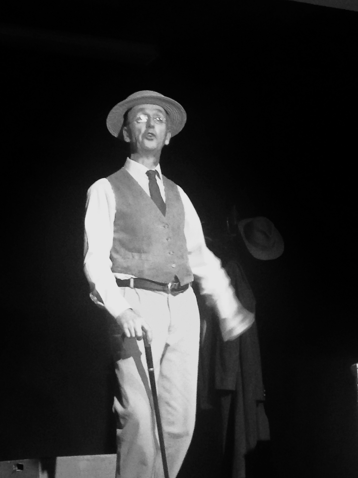 Declan Gorman as James Joyce