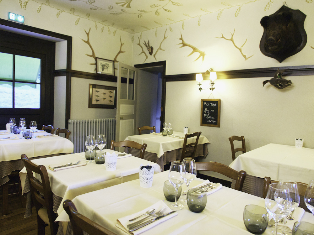 Les Forges de Paimpont, restaurant in Brittany, fine dining in Brittany
