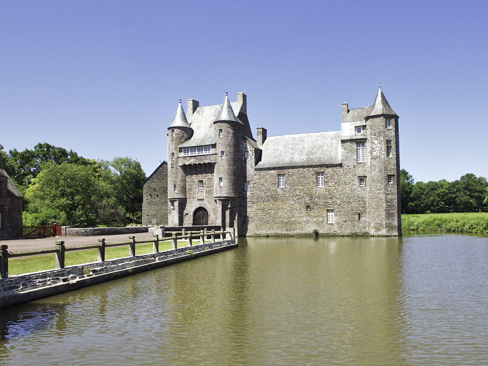 Chateau de Trecesson, Brittany activities, what to do in Paimpont