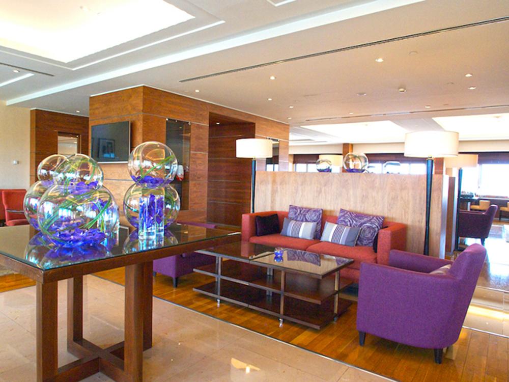 executive lounge Corinthia hotel