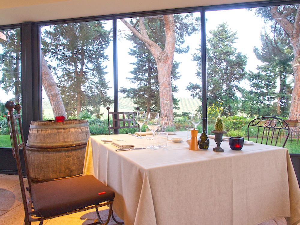 fine dining in Tuscany, Alain Ducasse restaurant