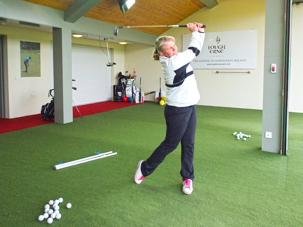 Lynn McCool, director of golf Academy