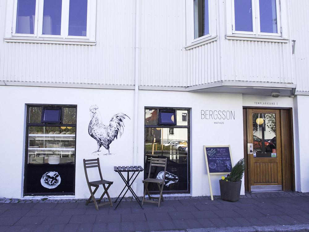 Bergsson café Reykjavik, breakfast in Iceland