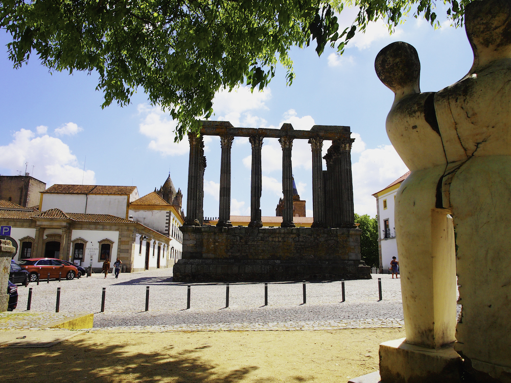 Roman ruins, Islamic ruins, Evora museums