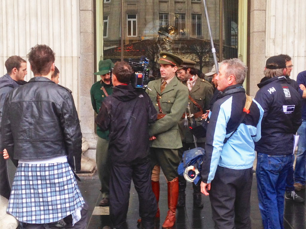 1916 Irish revolution celebrations, walking tours Dublin