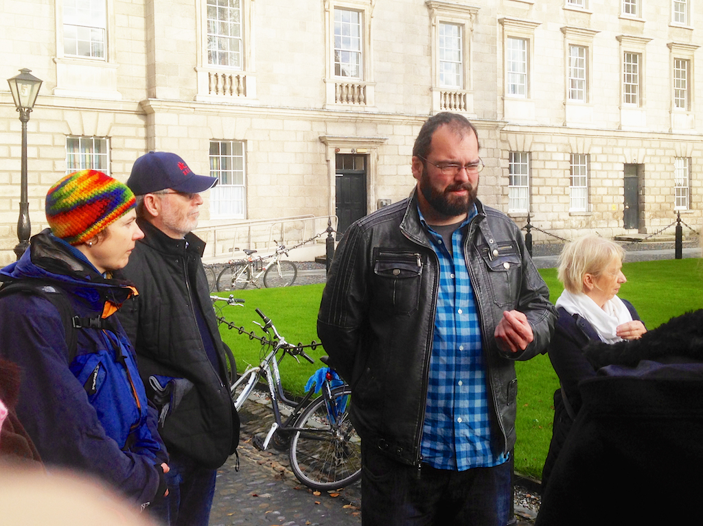 Shane Kenna walking tours, what to do in Dublin
