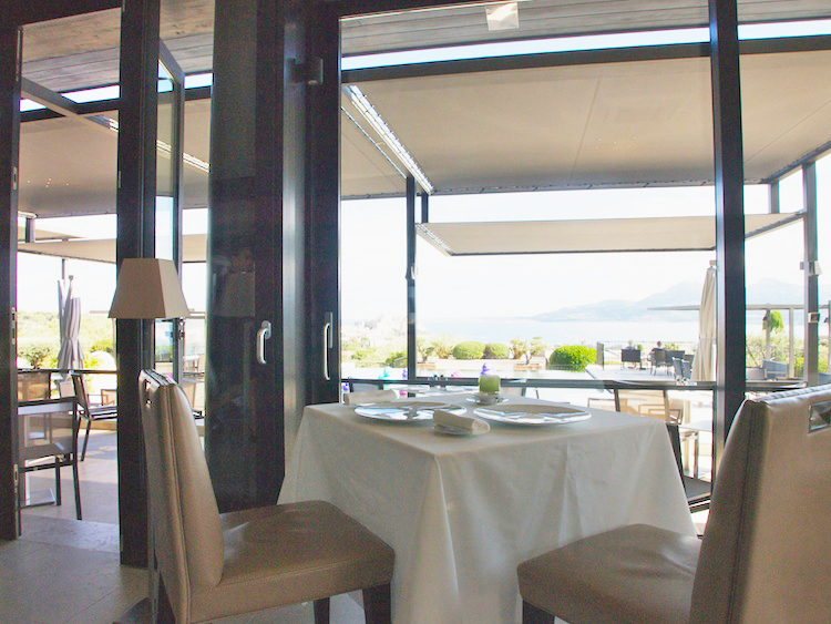 La Table by La Villa, fine dining in Calvi