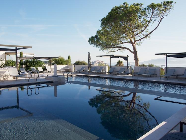 swimming pools Corsica, holiday in Calvi Corsica