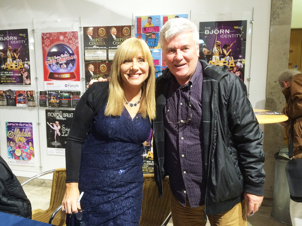 Sean Hillen writer, Frances Black Irish singer