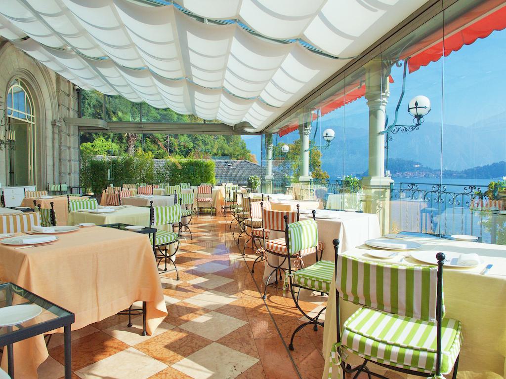 La Terrazza restaurant Lake Como, Grand Hotel Tremezzo