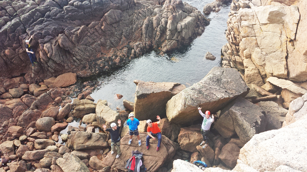 rock climbing Donegal, outdoor adventures Ireland