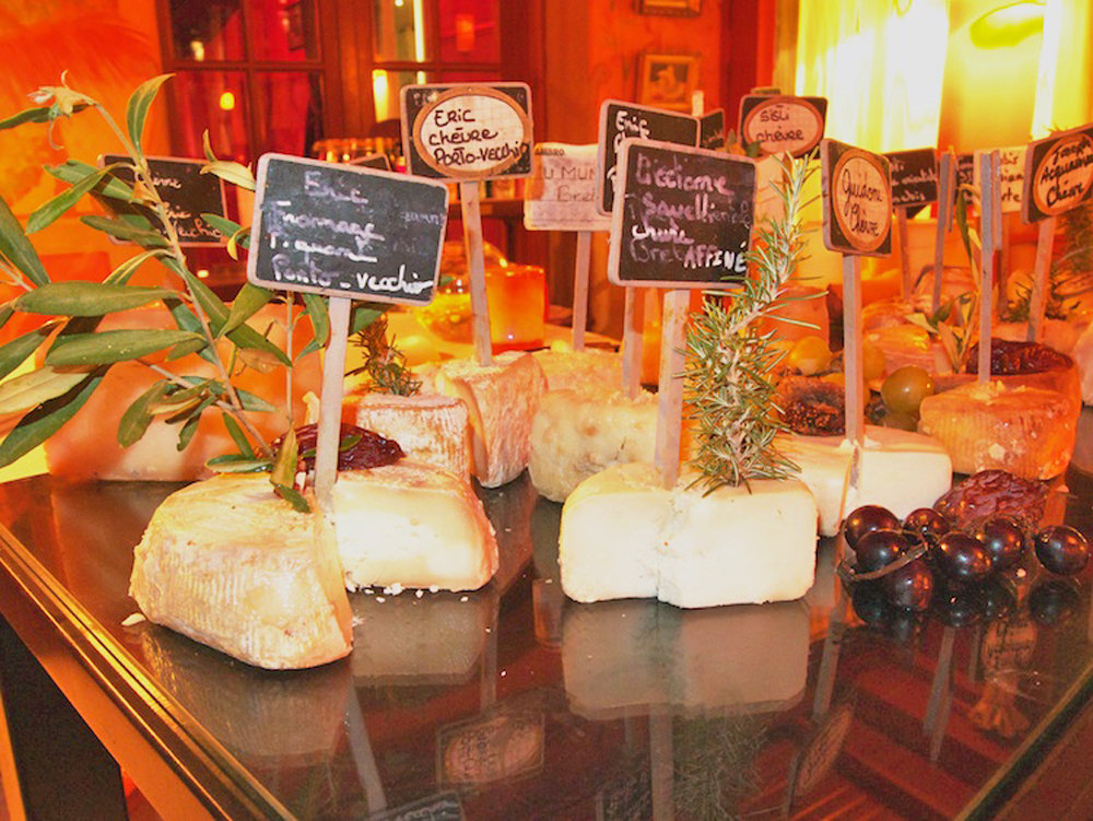 fine dining in Calvi, Corsican cheese, Corsican gourmet food