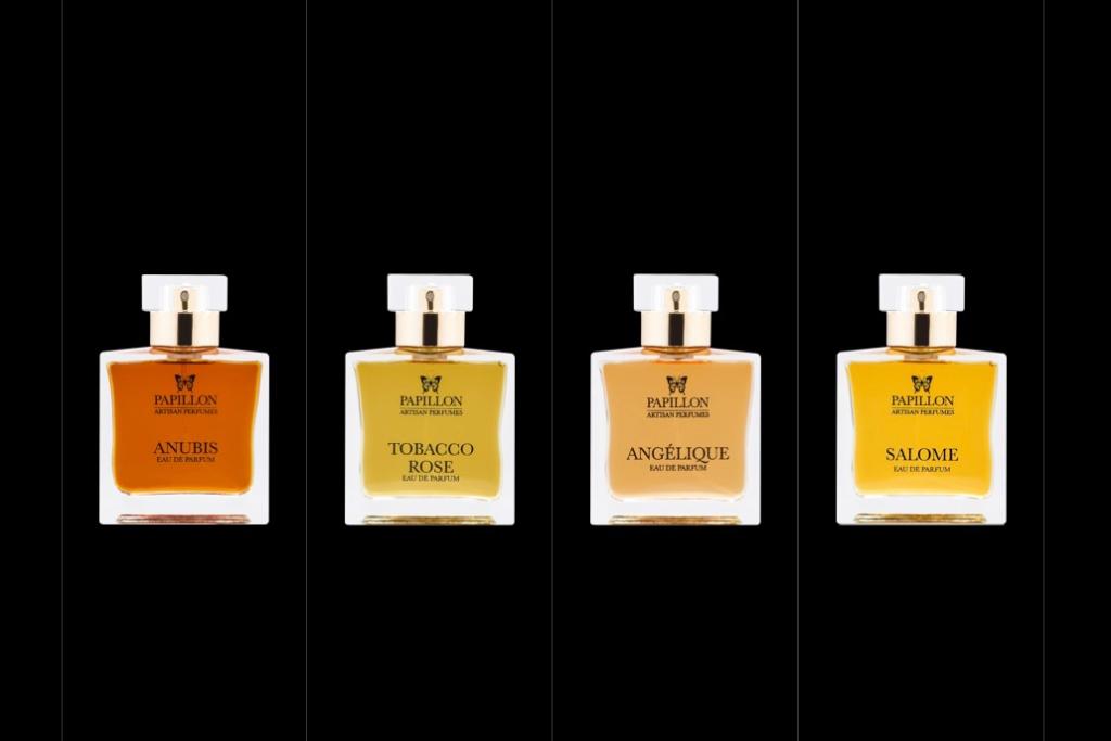 Papillon Perfumes, artisan perfumes