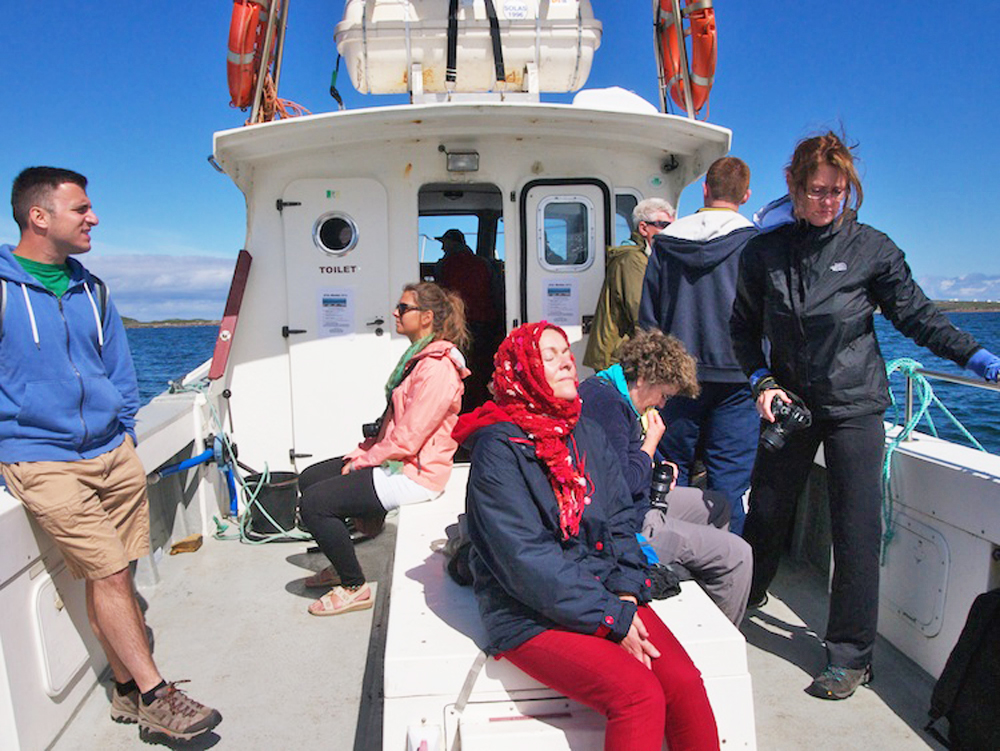 visit Ireland's islands, boat trips to Irish islands
