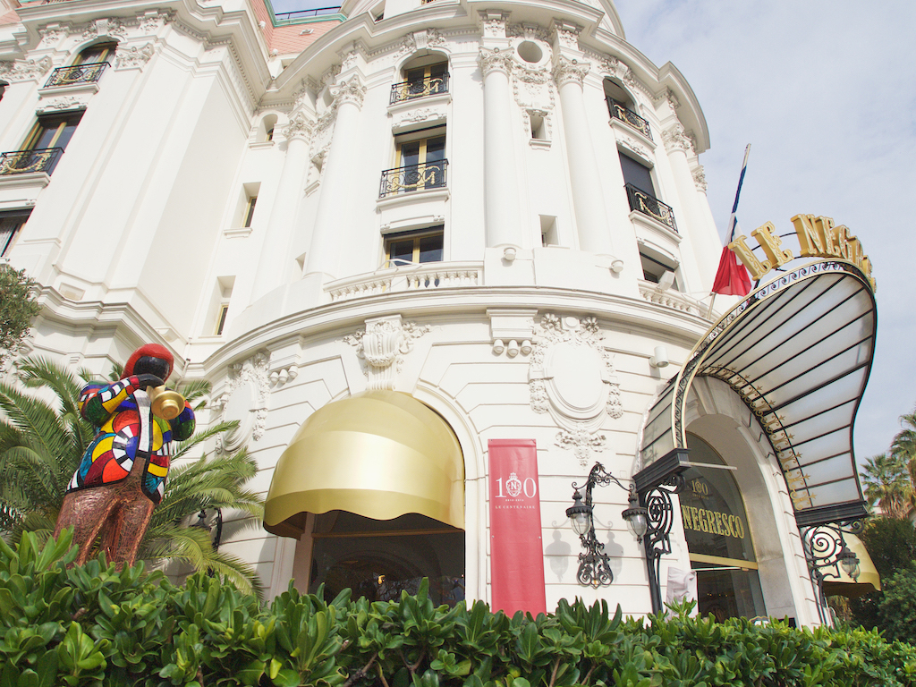 Le Negresco hotel, best hotels in Nice