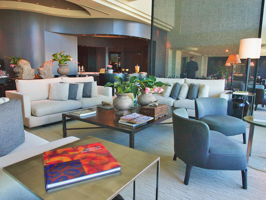 executive lounge Hotel Arts Barcelona