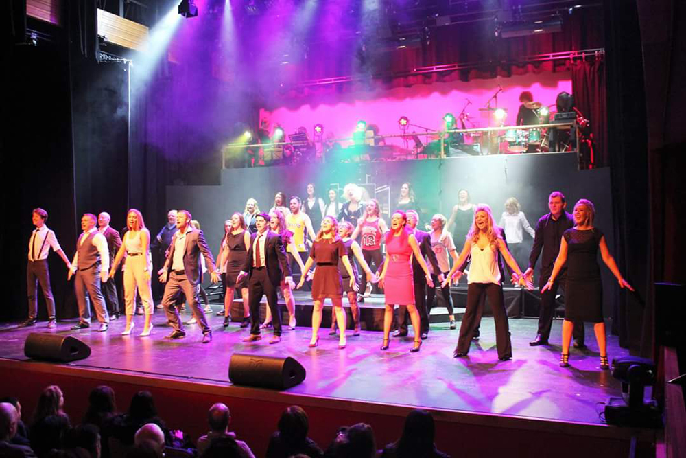 Gutz the musical, An Grianan Theatre
