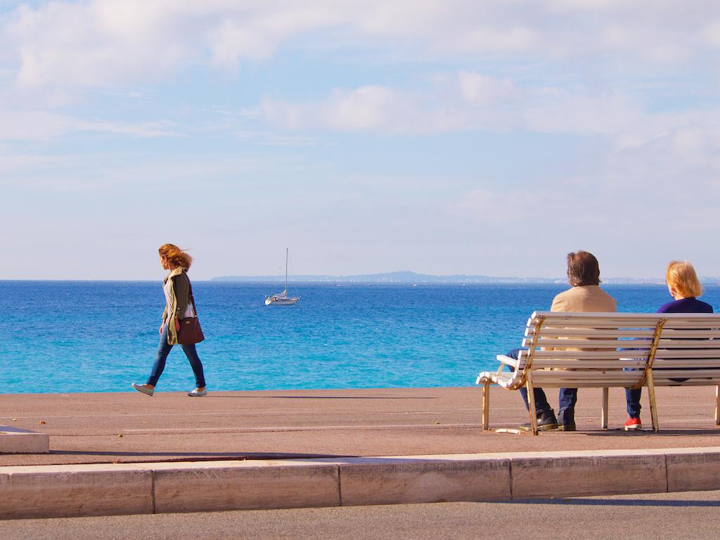 Nice promenade, visit Nice in France