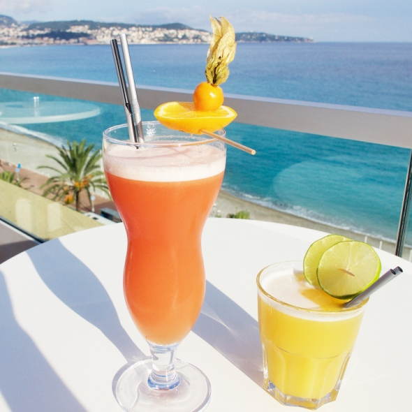 cocktails in Nice, cocktails on the French Riviera