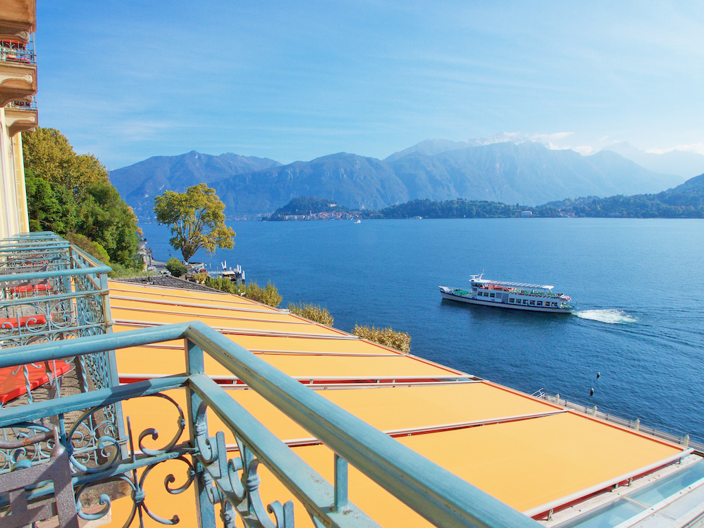 vacation on Lake Como