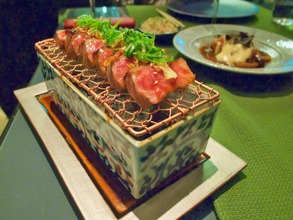 hida gyu Wagyu beef, fine dining in Amsterdam