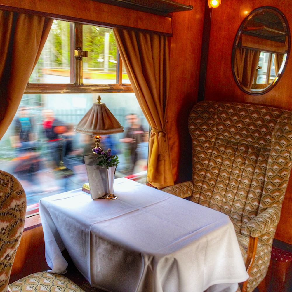 Belmond British Pullman, fine dining in London