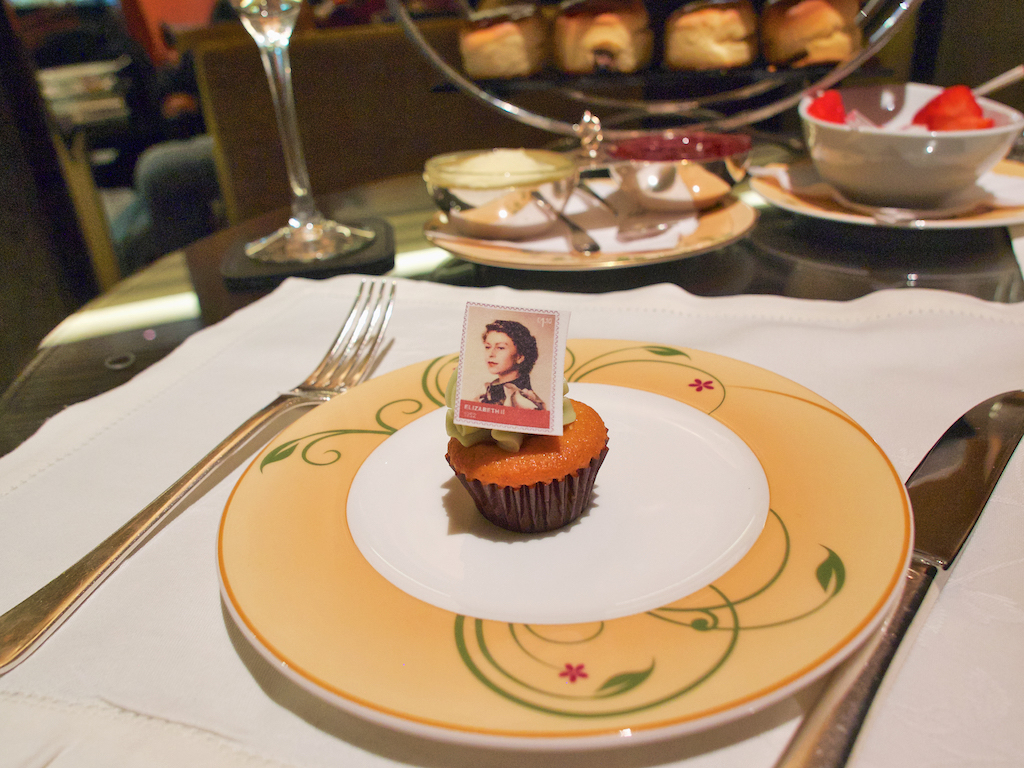 Queen Elizabeth's 90th birthday, afternoon tea in London