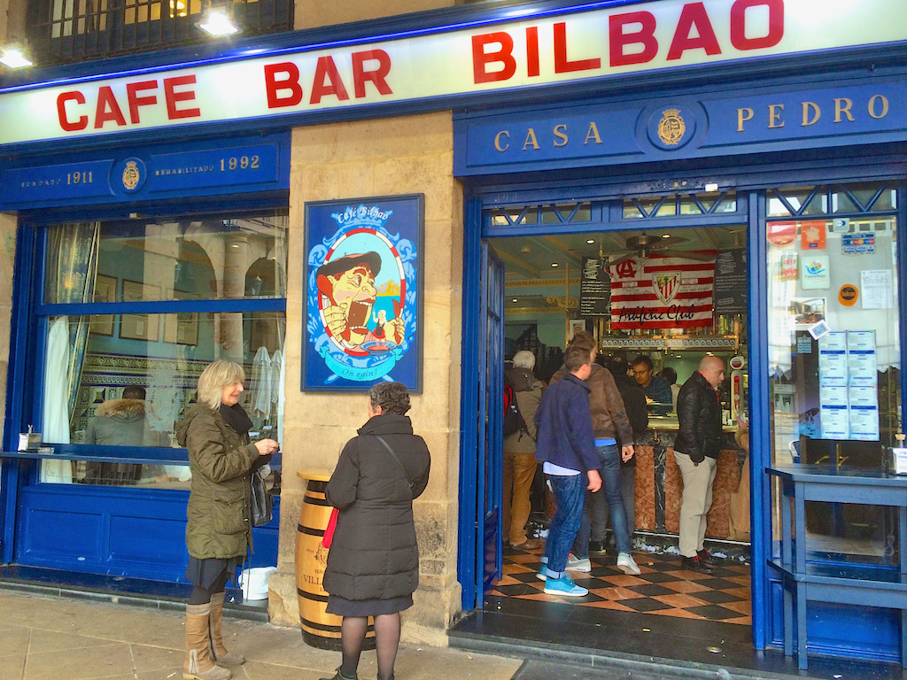 Bilabo bars and pintxos
