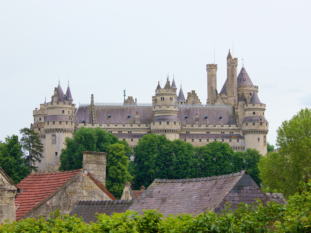 Chateau de Pierrefonds, French castles