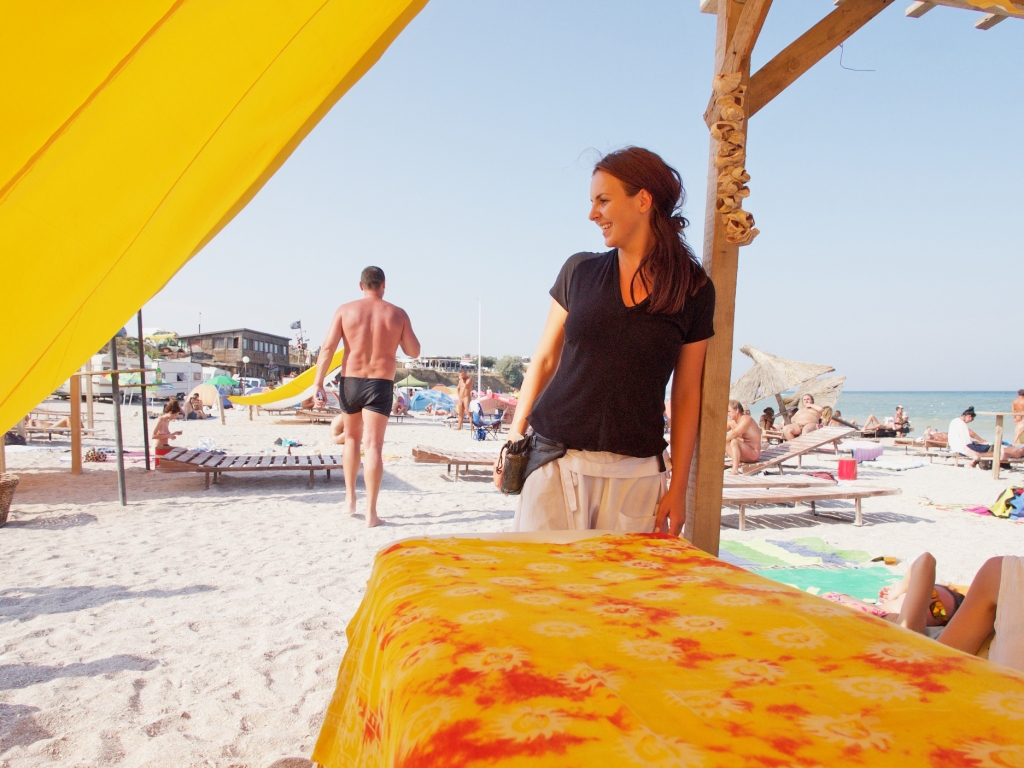 massage on the beach, Vama Veche Romania