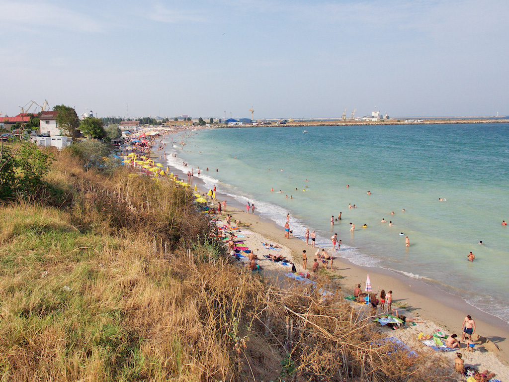 best beaches in Romania