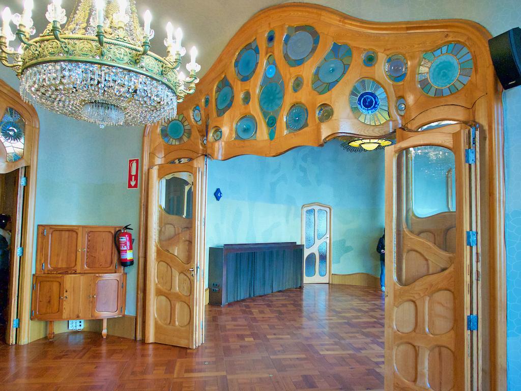 Casa Balto, Gaudi art