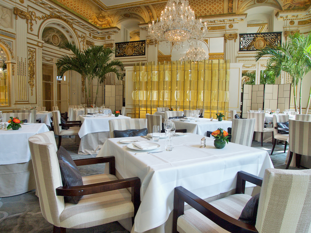 The Lobby restaurant, The Peninsula Hotel Paris