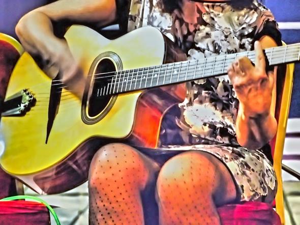 Django sur Lennon festival, gypsy jazz