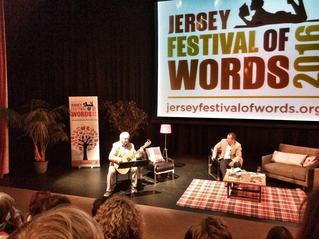 Louis de Bernieres, Jersey Festival of Words