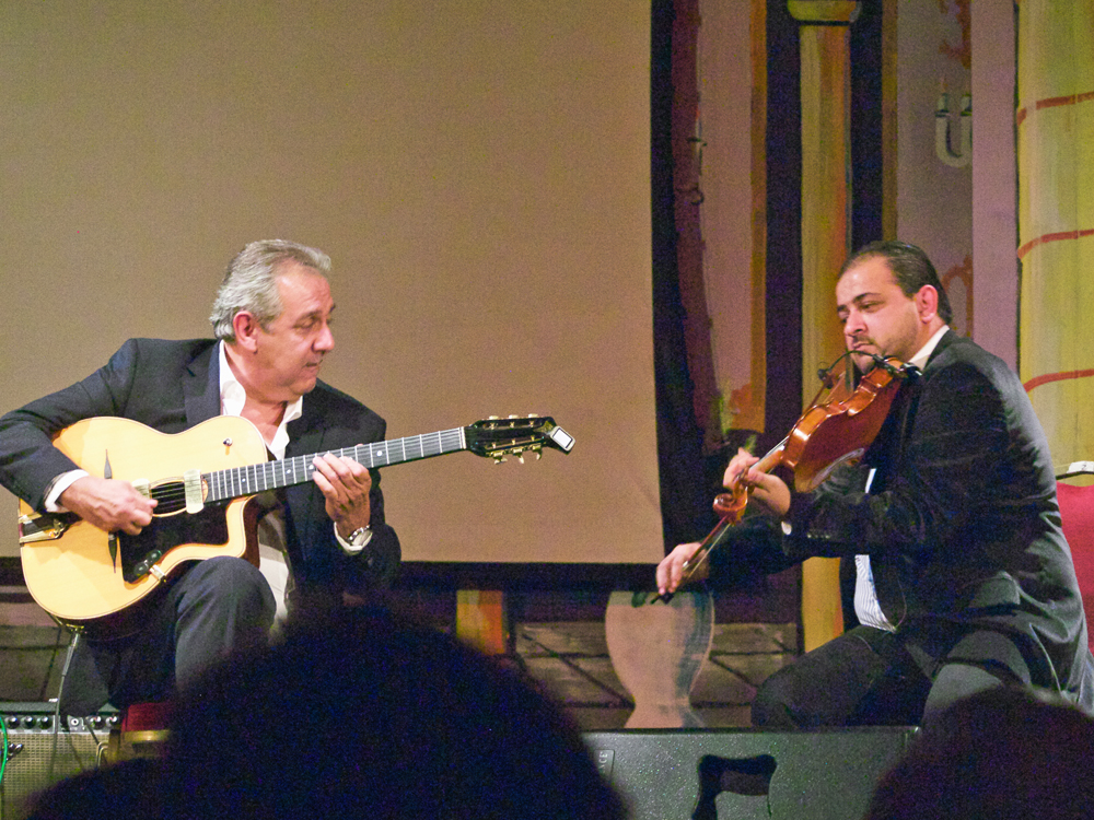 gypsy jazz Donegal, Romane and Rudo Bado