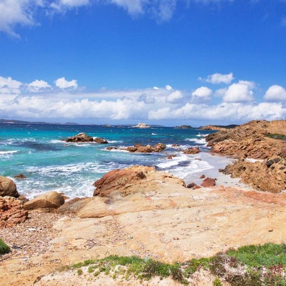 Sardinian islands, La Maddalena island