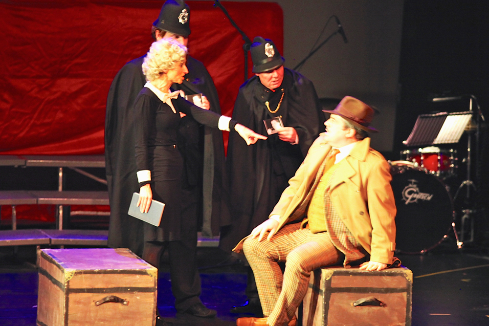 39 Steps theater, live theater in Donegal
