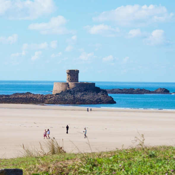Jersey Island beaches, where to go for Christmas