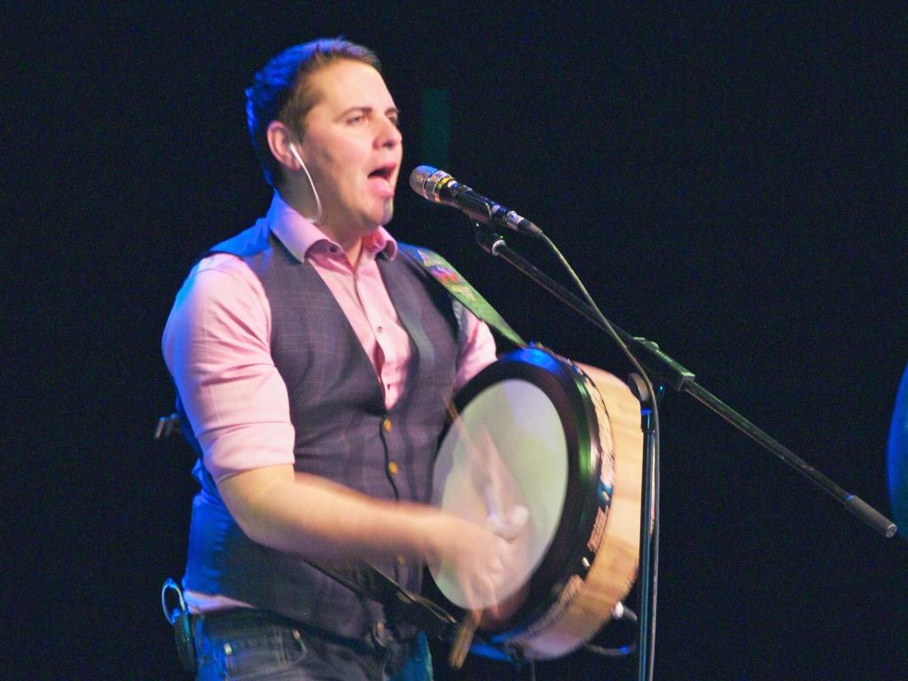 Brian Dunphy musician, The High Kings