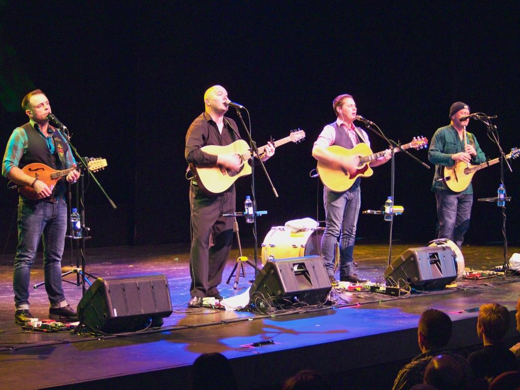 The High Kings, live Irish music