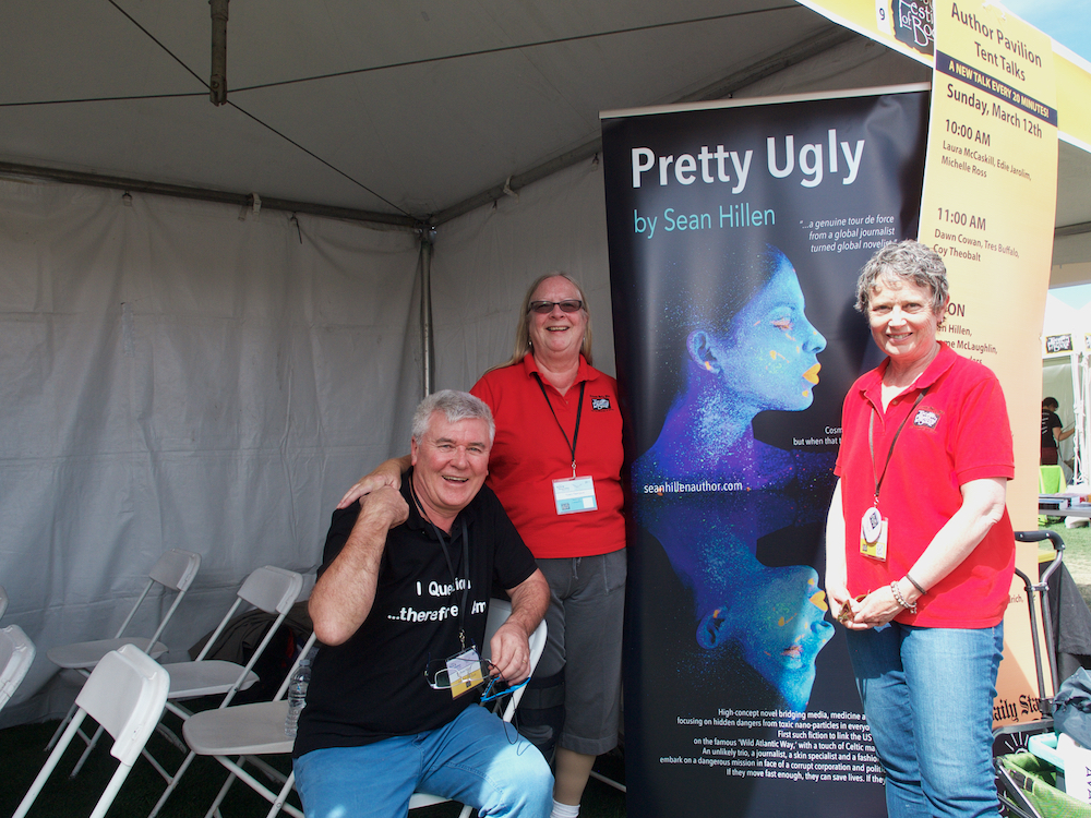 Nancy Thompson Tucson Festival of Books, Pretty Ugly book by Sean Hillen