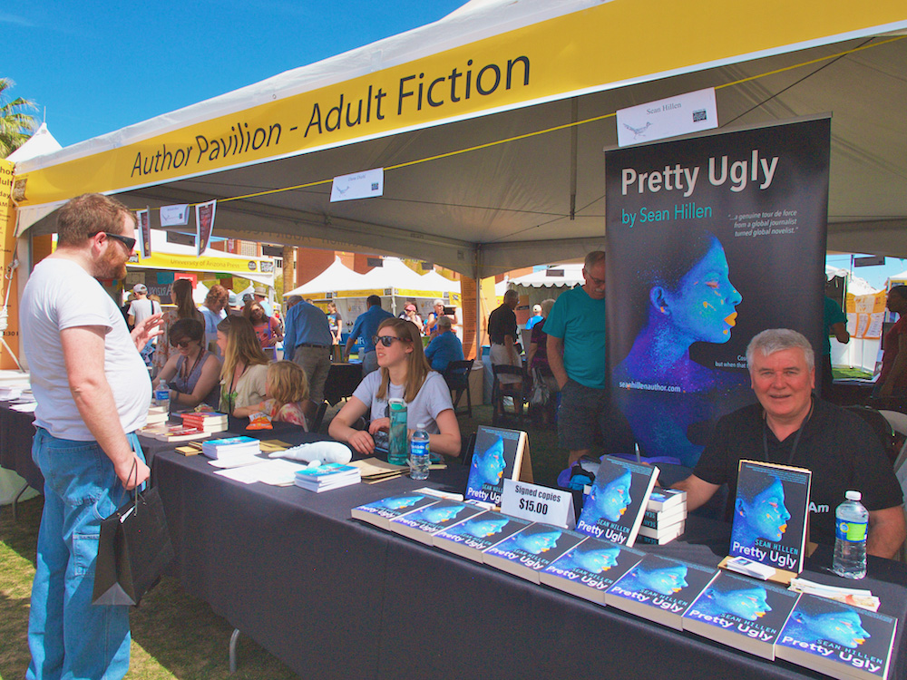Tucson Festival of Books, Sean Hillen author