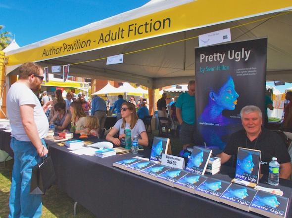 Tucson Festival of Books, Sean Hillen author