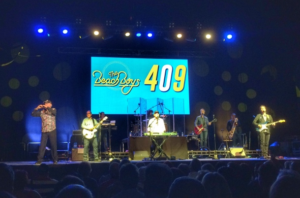 The Beach Boys on tour, the beach boys music band