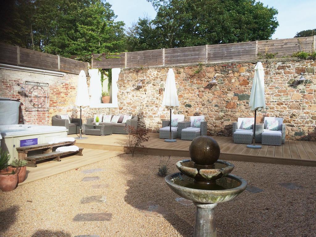 best spas on Jersey Island, luxury spa at Longueville Manor