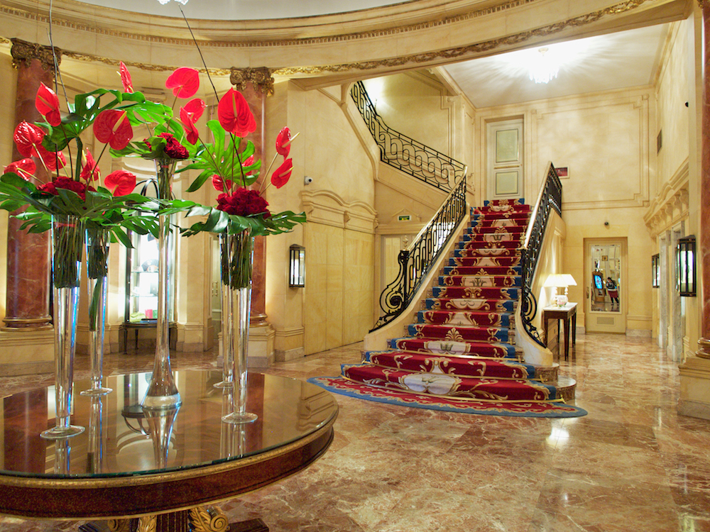 Ritz Madrid, luxury hotels Madrid